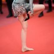 Cannes, salto alto é