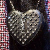 Saint Laurent mini 'Love' heart bag