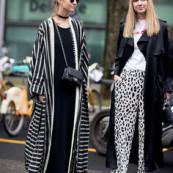 O maxi kimono permanece como uma opção fashionista para quer quer um visual marcante.