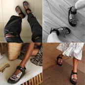 Tendência Verão 2020: Sandália do Papai (turista)