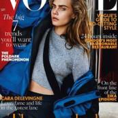"""Cara Delevingne """"Vogue"""" (Foto: Reprodução/Revista """"Vogue"""")"""