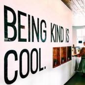 Ser gentil é maneiro