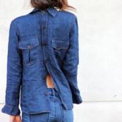 jeans ao contrário,