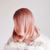 perfect pink hair |