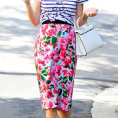 Jaime King in a stri