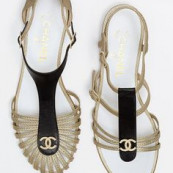 Chanel sandals #styl
