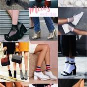 Trend alert: meias e
