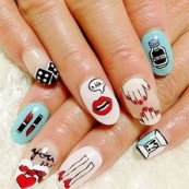 awesome nail art #na