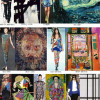A moda imita a arte