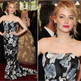 Baile do Met: Emma Stone