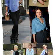Trend alert: Camisa Jeans