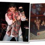 Roupas para show de rock