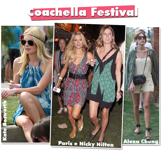 Os looks do Coachella