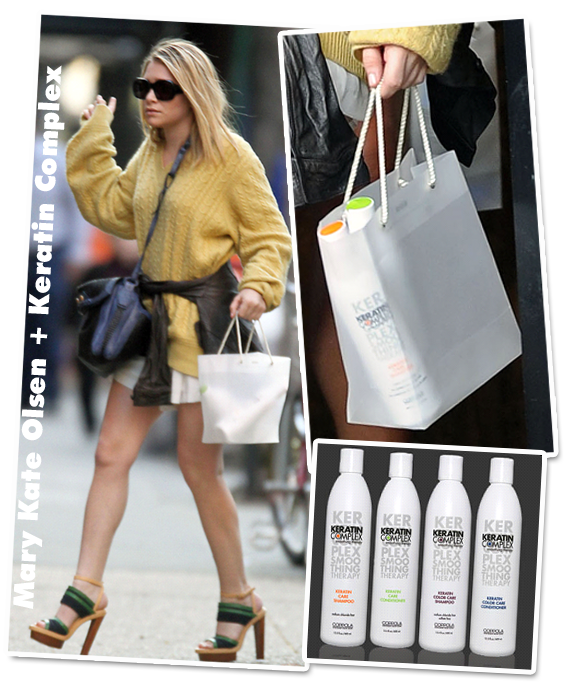 What's in your plastic bag – Ashley Olsen Edition