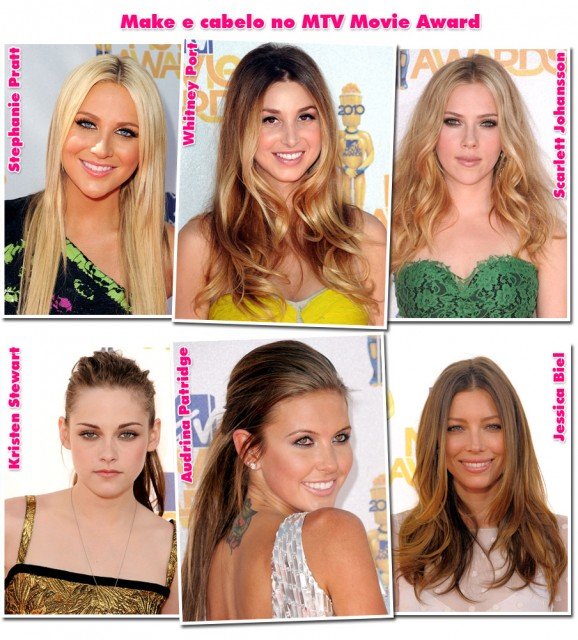 MTV Movie Awards – Make e cabelo