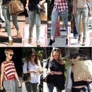 O jeans que as famosas usam