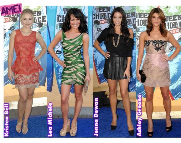 Os looks do Teen Choice Awards!