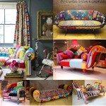 Decoração de quinta: Patchwork nos móveis!