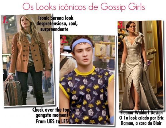 Os looks que marcaram Gossip Girl