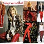 Trend Alert: Calça vermelha!