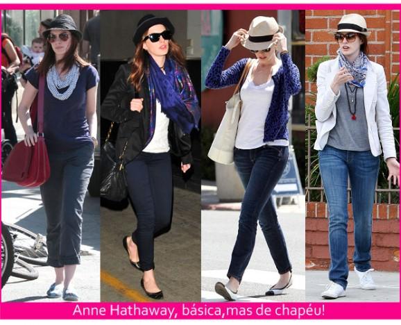 Anne Hathaway, sua linda!