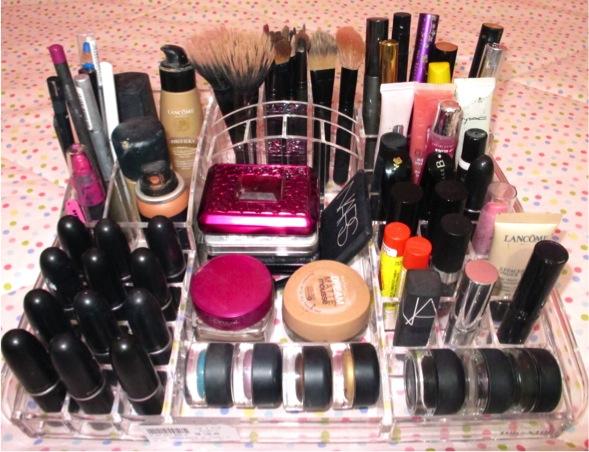 Organizando a maquiagem!