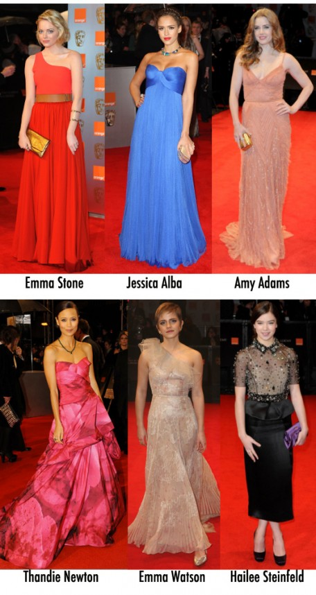 Os looks do Bafta!