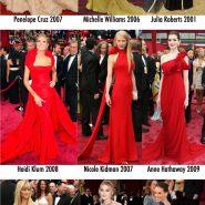 Os melhores vestidos do Oscar de todos os tempos