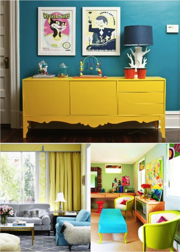 Decor Color blocking