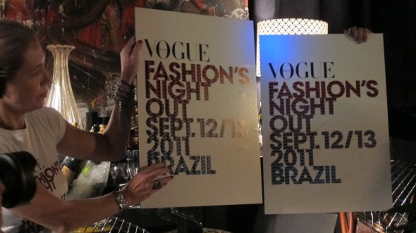 Fashion's Night Out no Brasil