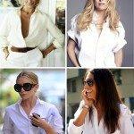 A origem da camisa branca