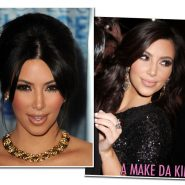 A maquiagem da Kim!