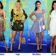 Os looks do Teen Choice Awards