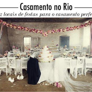Lugares para se casar no Rio