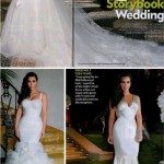 Os 3 vestidos de noiva da Kim!