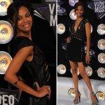 VMA: Zoe Saldana