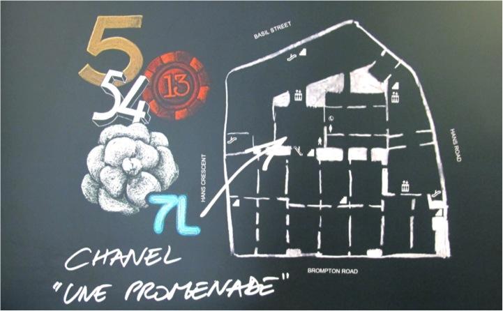 Expo Chanel na Harrods