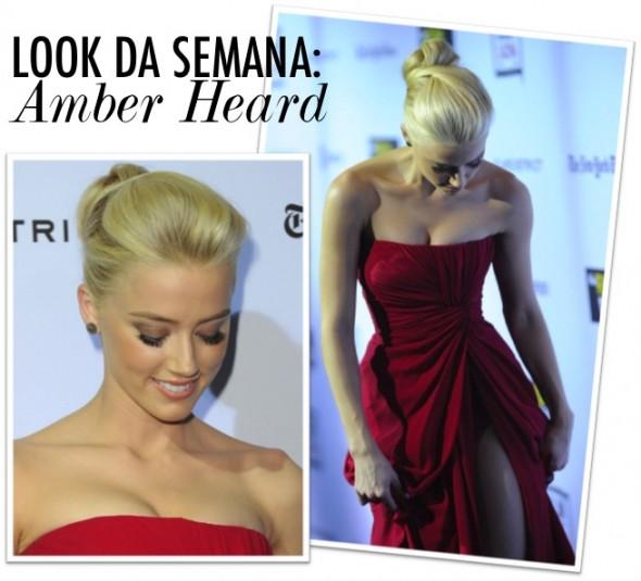 Look da Semana: Amber Heard
