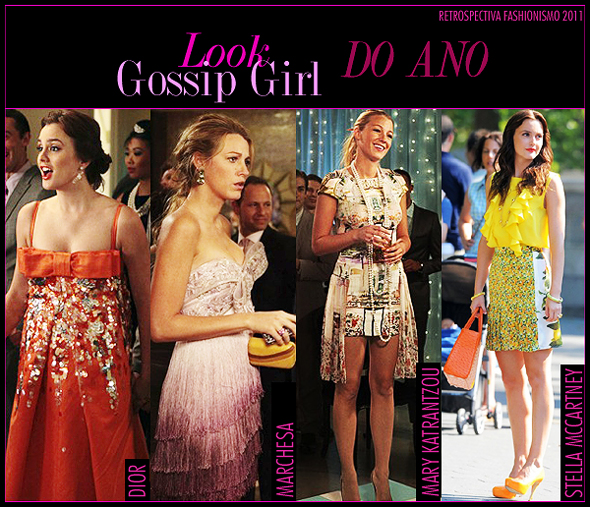 Look Gossip Girl do Ano