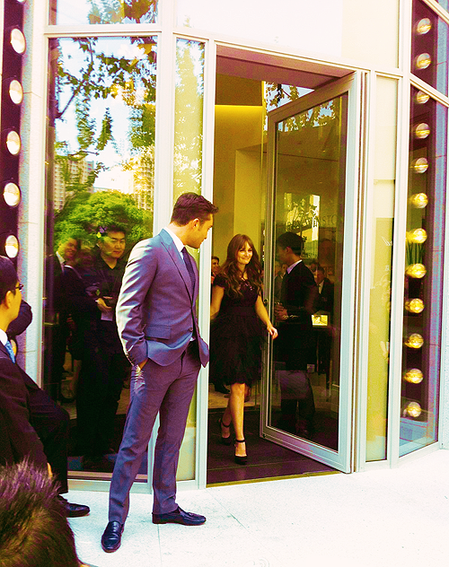 Chuck e Blair na China!