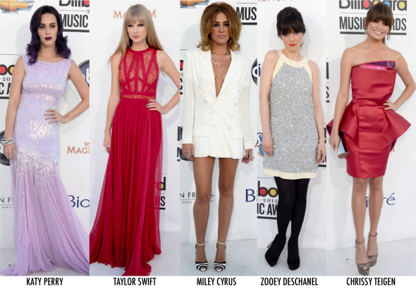 Os looks do Billboard Awards