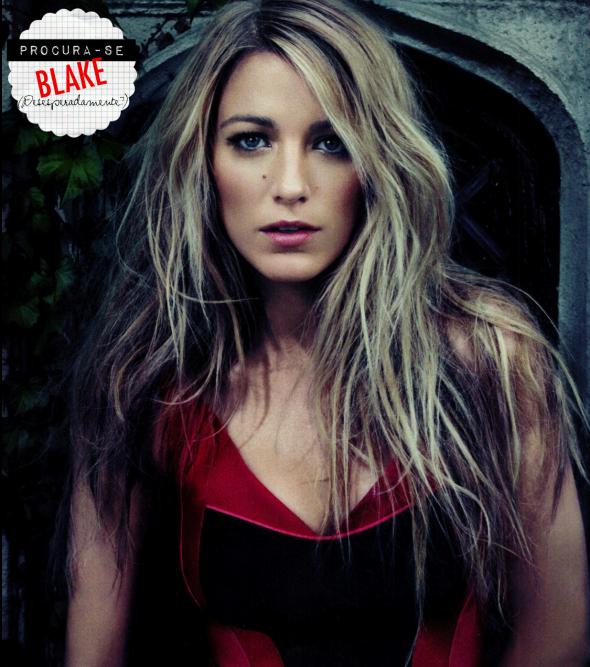 Blake Lively, cadê você?