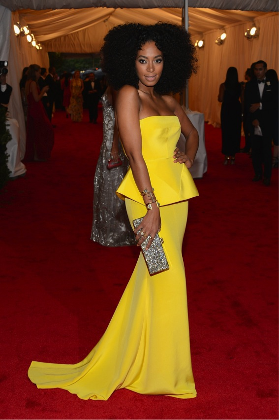 Baile do Met: Solange Knowles
