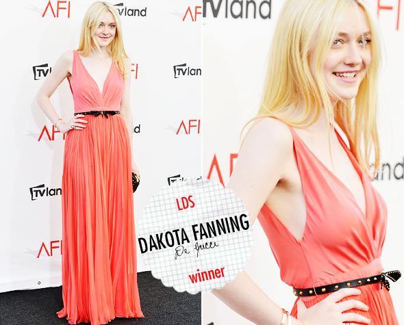 Look da Semana: Dakota Fanning