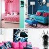 Cores na decor: Rosa + azul