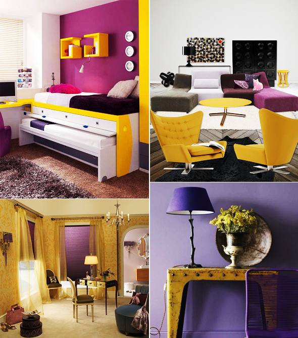 Cores na decor: Roxo