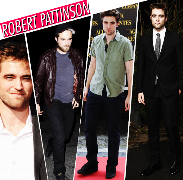 Estilo: Robert Pattinson