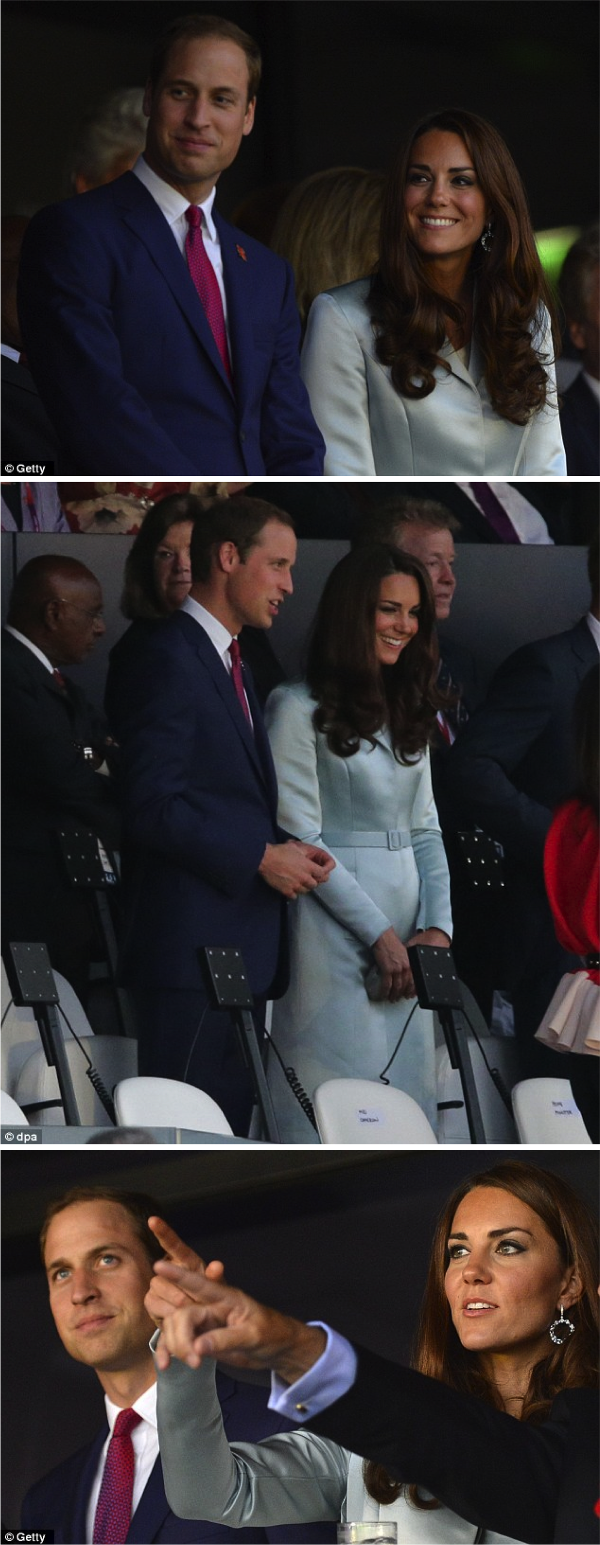 O look da Kate Middleton nas Olimpíadas!