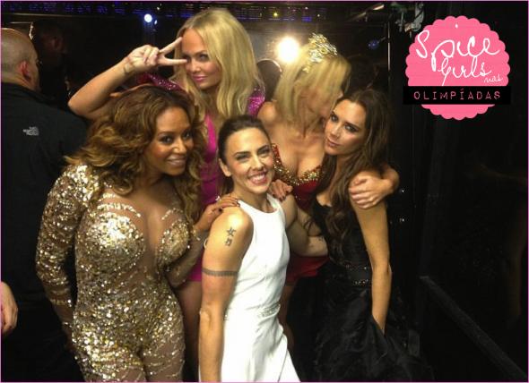 Spice Girls nas Olimpíadas!