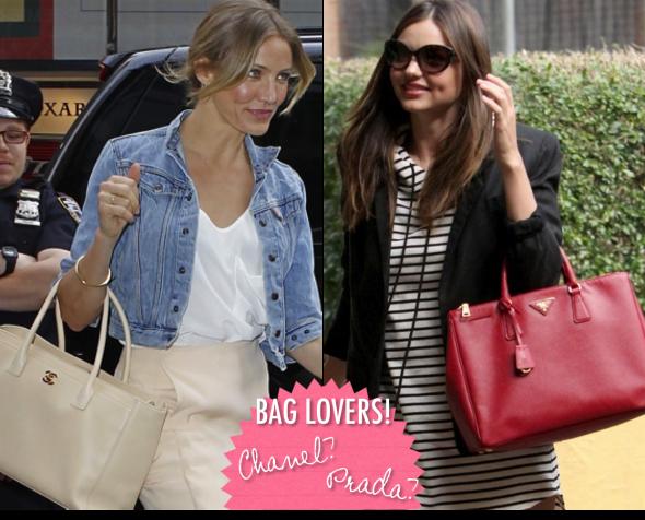 Chanel versus Prada!